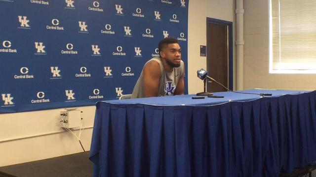 Karl-Anthony Towns thinks UK alumni could 'kill' NBA super team