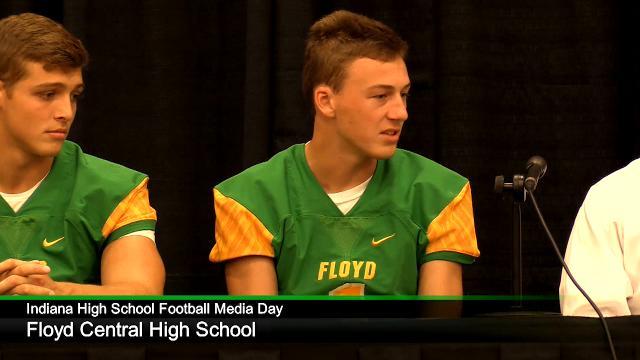 IHS Football Media Day: Floyd Central High School