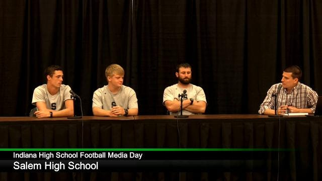 IHS Football Media Day: Salem High School