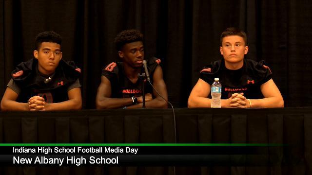 IHS Football Media Day: New Albany High School