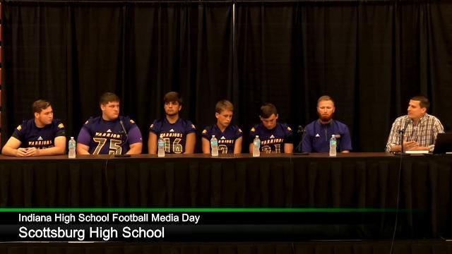 IHS Football Media Day: Scottsburg High School
