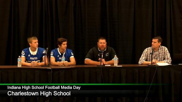 IHS Football Media Day: Charlestown High School