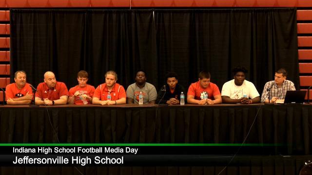 IHS Football Media Day: Jeffersonville High School