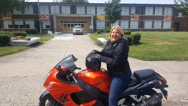 Byck Elementary principal revved up for school