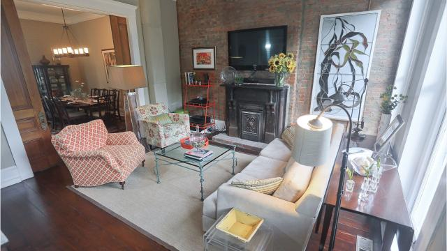 This 2,100-square-foot home in Butchertown is 150 years old. Now, it's bright, modern and has a touch of its historic past