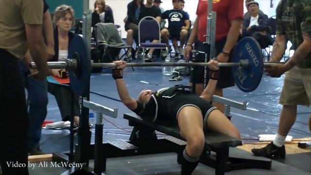 Ali McWeeny lost her leg in a boating accident in 2009. Despite doctors telling her she would never be able to play the sports she loved, she proved them wrong by being the first woman amputee to compete in powerlifting.