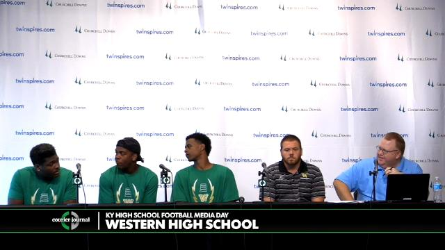 Western High School Football Media Day