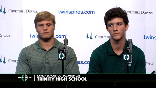 Trinity High School Football Media Day
