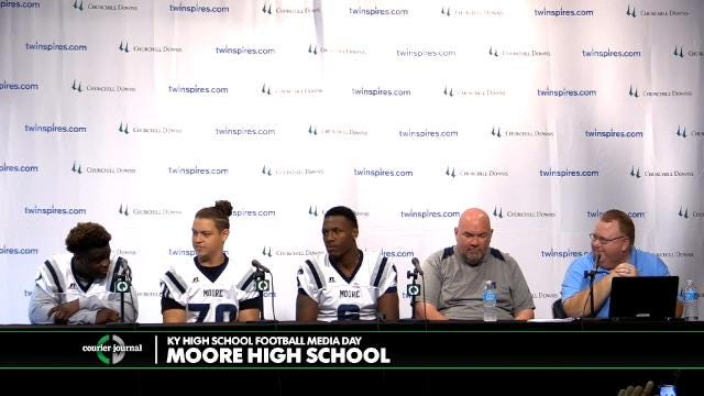 Moore High School Football Media Day