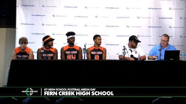 Fern Creek High School Football Media Day