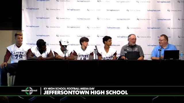 Jeffersontown High School Football Media Day