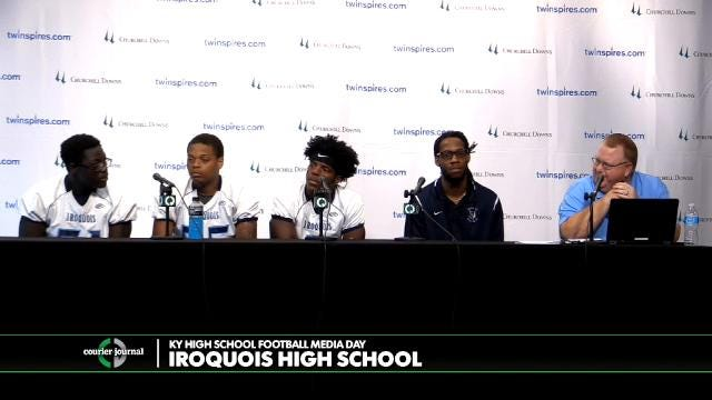 Iroquois High School Football Media Day