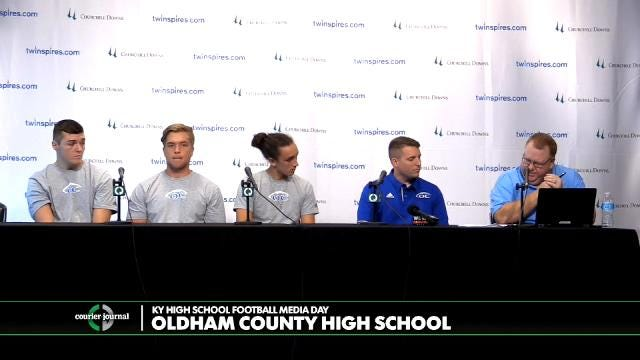 Oldham County High School Football Media Day