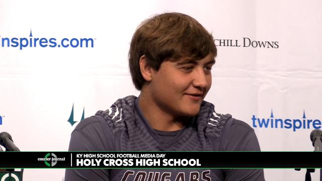 Holy Cross High School Football Media Day