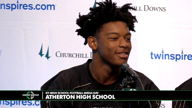 Atherton High School Football Media Day