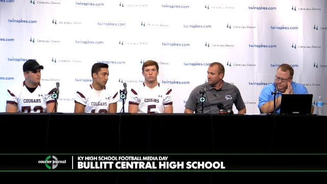 Bullitt Central High School Football Media Day