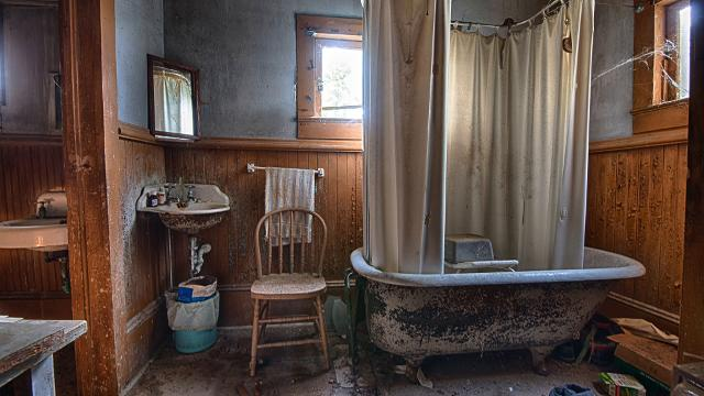 Louisville photographer John Miller finds beauty in urban decay. August 2017