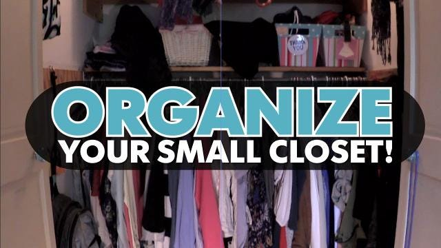 Are you fed up with messy closets? Let Kirby Adams show you a few quick and easy ways to get organized.
