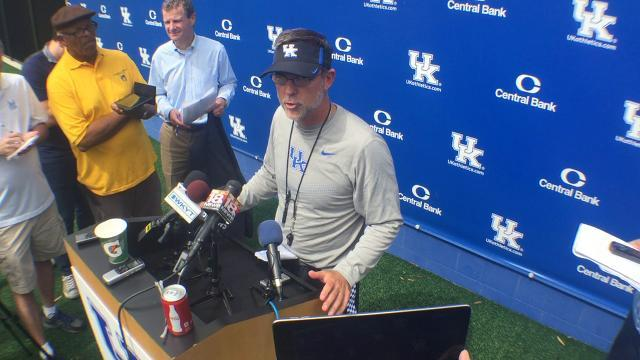 UK OC Eddie Gran not concerned with Stephen Johnson injury