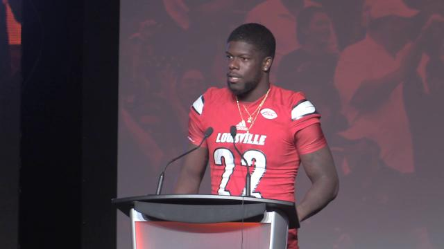 Captain Chucky Williams talks about the upcoming season and the defense, which could be faster and leaner. Aug. 15, 2017