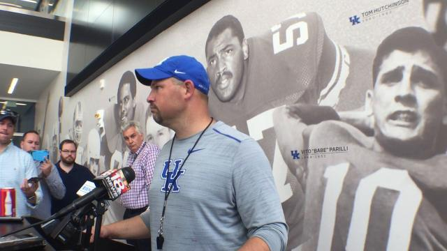 UK DC Matt House sees progress from run defense