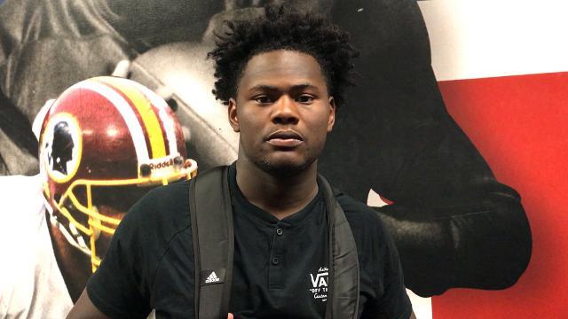 University of Louisville freshman Kemari Averett discusses how football motivates him.