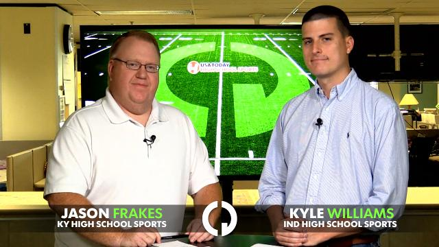The CJ's Jason Frakes and Kyle Williams preview the top high school football games this week in Kentucky and Southern Indiana.