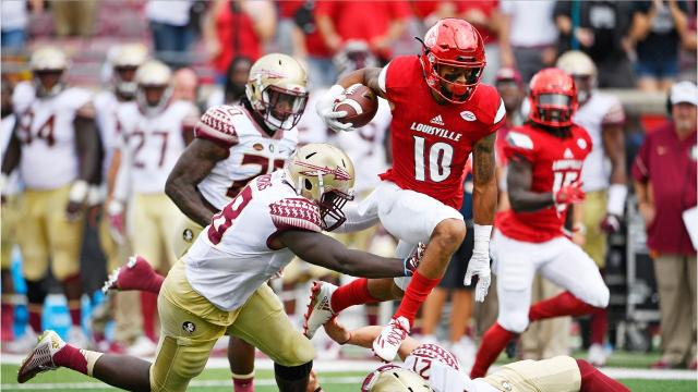 Louisville cornerback Jaire Alexander is an All-America candidate and potential NFL first-round pick.