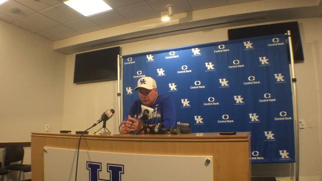 UK coach Mark Stoops breaks down second scrimmage of preseason practice