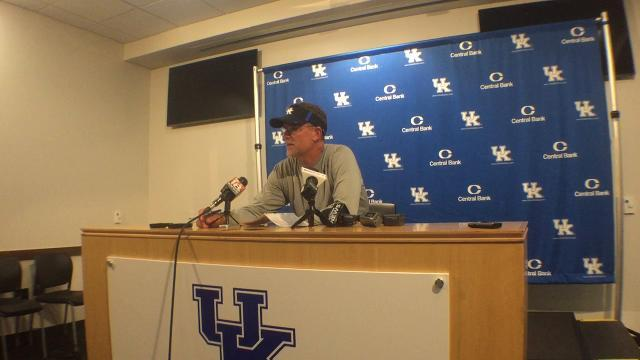 UK OC Eddie Gran breaks down second scrimmage of preseason practice
