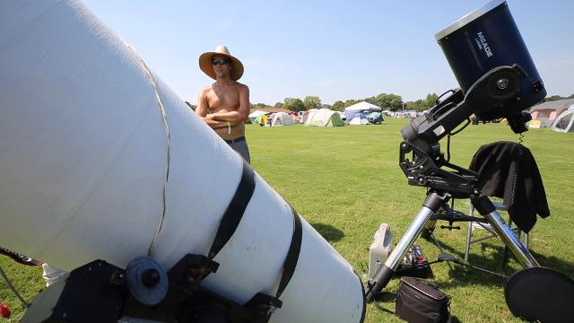 Eclipse Chasers share their motivation for heading to Hopkinsville