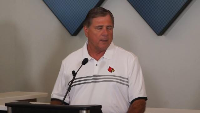 Louisville's Tom Jurich on the new deal with Adidas