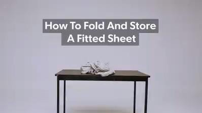 Life Hacks Yes Its Possible To Fold And Store Fitted Sheets Heres How