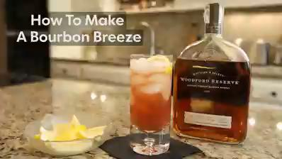 Learn how to make a perfect bourbon breeze cocktail