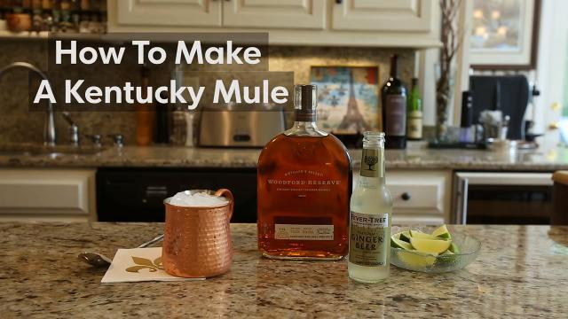 How to make a Kentucky Mule