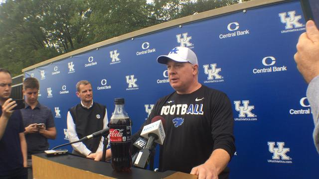 Mark Stoops updates Jordan Jones' status