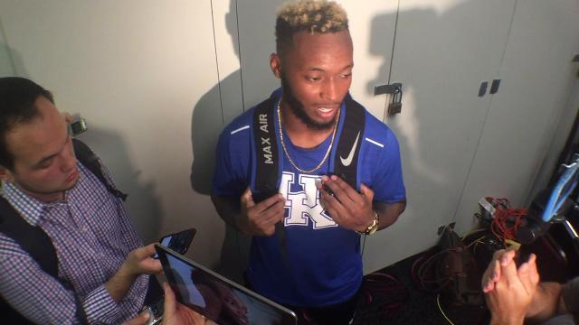 UK S Mike Edwards after South Carolina win