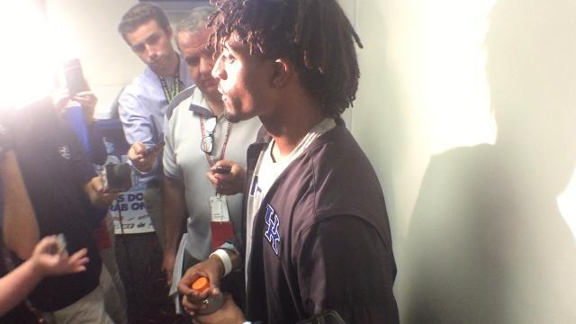 UK QB Stephen Johnson after South Carolina win
