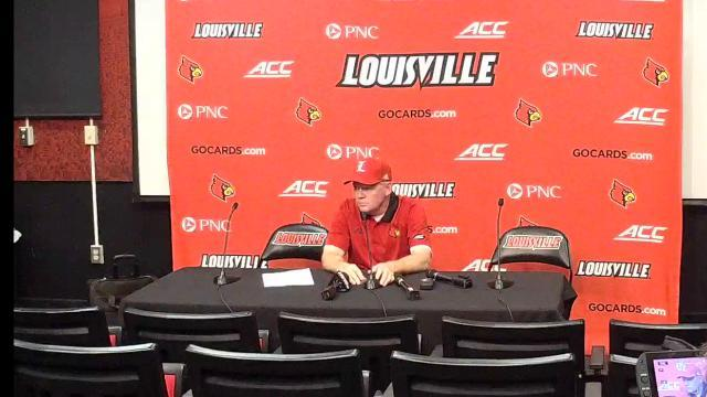 Louisville's Petrino after the Cards lose to Clemson