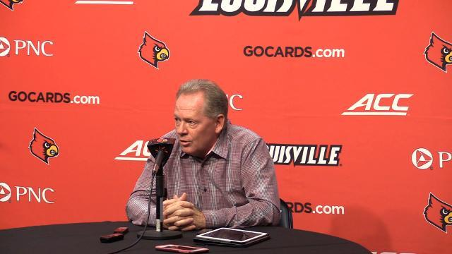 Bobby Petrino Talks About U of L's loss to Clemson And Moving Forward