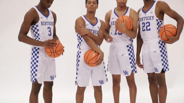 Meet The 2017-18 Kentucky Basketball Team