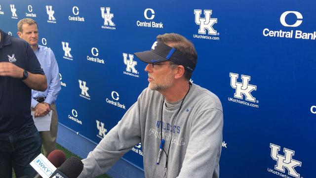 Eddie Gran previews Florida and talks Kentucky offense