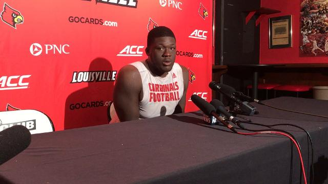 Kenny Thomas says offensive line has improved