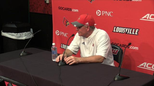 Bobby Petrino's post Kent State press conference