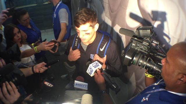 UK WR Charles Walker after loss to Florida