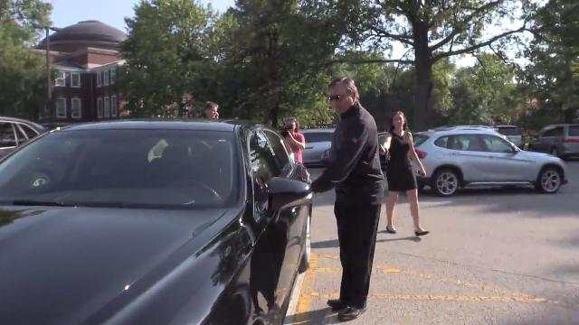 RAW: Tom Jurich leaves U of L's Grawemeyer Hall