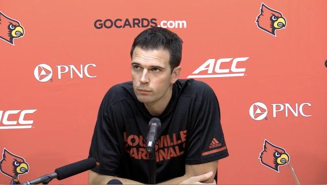 David Padgett focusing on U of L team