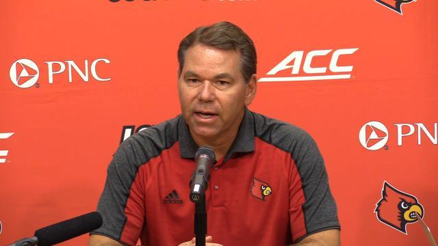 Vince Tyra On His Position As Interim Athletic Director