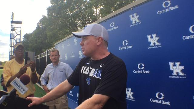 Mark Stoops preparing for Missouri tempo
