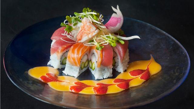 While hiko-A-mon in Westport Village offers up some colorful sushi selections, its other dishes make this modern Japanese food and sushi bar stand out.